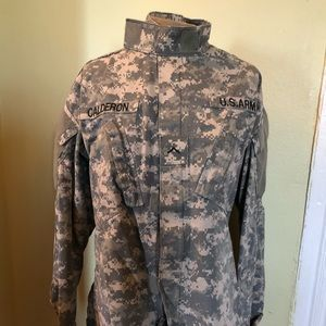 Jackets & Blazers - Military US Army Jacket Size 36 Long W/ Patches